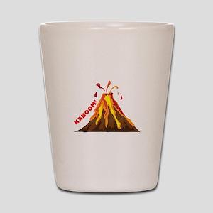 Volcano Kaboom Shot Glass