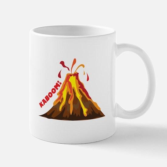 Volcano Kaboom Mugs