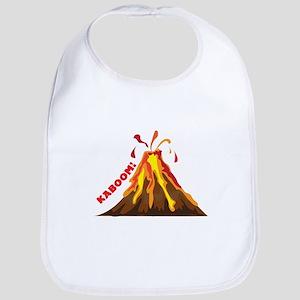 Volcano Kaboom Bib