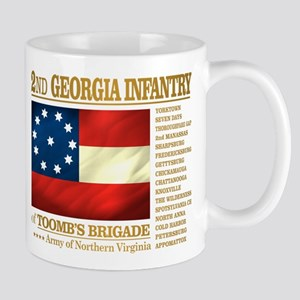 2nd Georgia Infantry Mugs