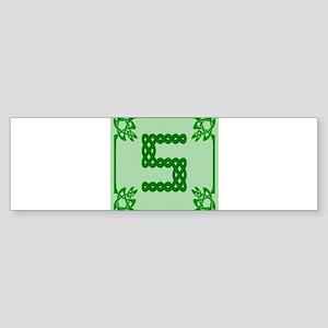 Celtic S Bumper Sticker