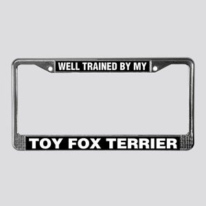 Well Trained By My Toy Fox Terrier