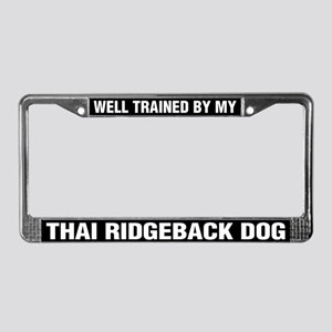 Well Trained By My Thai Ridgeback Dog
