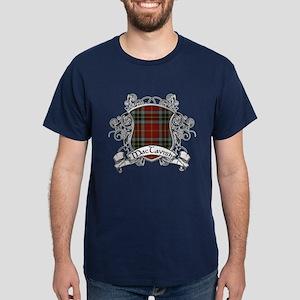 MacTavish Tartan Shield Dark T-Shirt