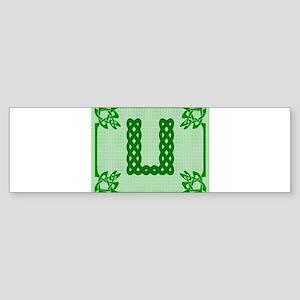 Celtic U Bumper Sticker