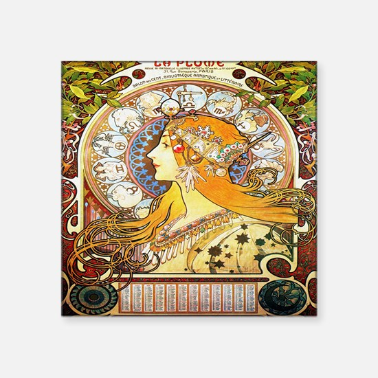 Alfons Mucha 1896 Zodiac Sticker