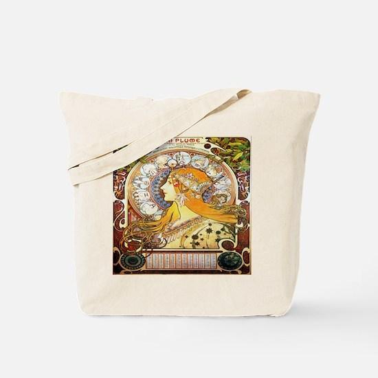 Alfons Mucha 1896 Zodiac Tote Bag