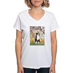 Spring - Tri Aussie 2 Women's V-Neck T-Shirt