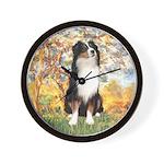 Spring - Tri Aussie 2 Wall Clock
