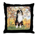 Spring - Tri Aussie 2 Throw Pillow