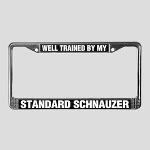 Well Trained By My Standard Schnauzer
