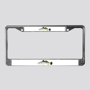 Spotted Seatrout 2 License Plate Frame