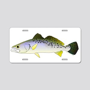 Spotted Seatrout 2 Aluminum License Plate