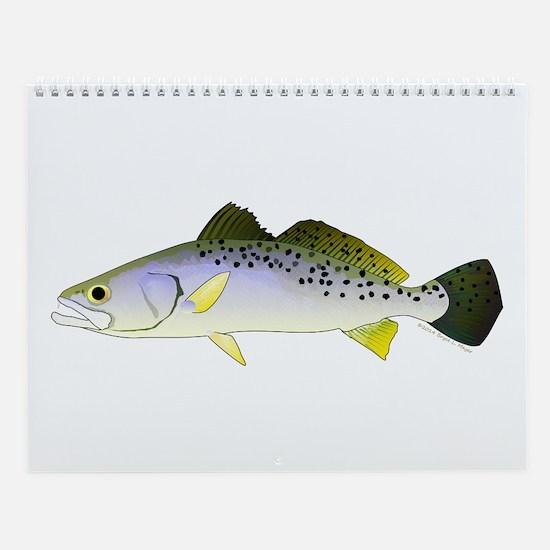 Florida Inshore Saltwater Fish Wall Calendar