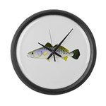 Spotted Seatrout 2 Large Wall Clock