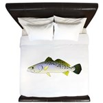 Spotted Seatrout 2 King Duvet