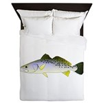 Spotted Seatrout 2 Queen Duvet