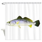 Spotted Seatrout 2 Shower Curtain