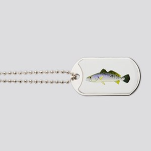 Spotted Seatrout 2 Dog Tags