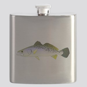 Spotted Seatrout 2c Flask