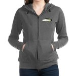Spotted Seatrout 2c Women's Zip Hoodie