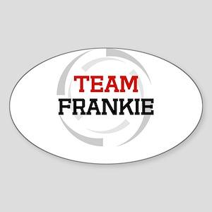 Frankie Oval Sticker