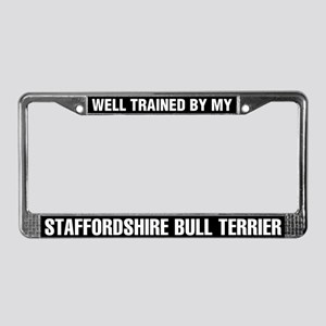 Well Trained By My Staffordshire Bull Terrier