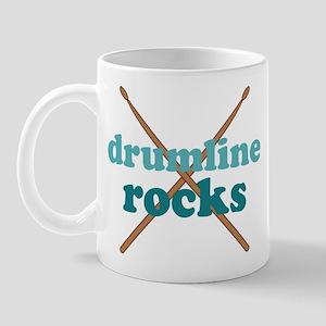 Drumline Rocks Marching Band Mugs