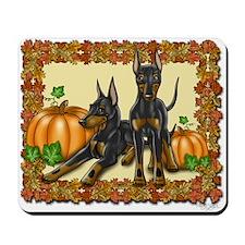 Autumn Standard Manchester Terriers Mousepad