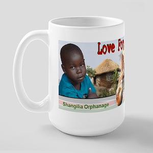 Love For Kenya Large Mug