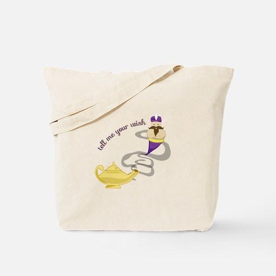 Genie Wish Tote Bag