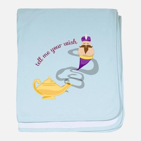Genie Wish baby blanket
