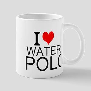 I Love Water Polo Mugs