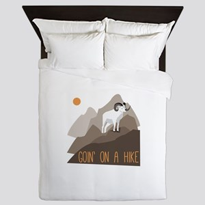 Goin on a Hike Queen Duvet