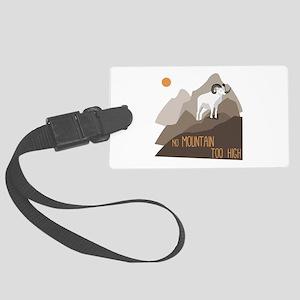 Mountain Goat Luggage Tag