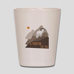 Mountain Goat Shot Glass