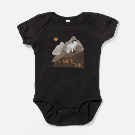 Mountain Goat Baby Bodysuit