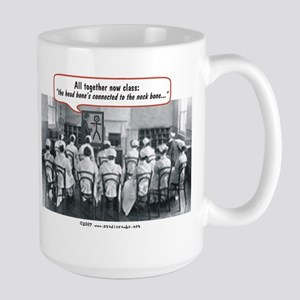 All Together Now Nurses Large Mug