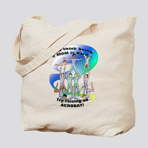 Raising Acrobat Tote Bag