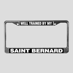 Well Trained By My Saint Bernard