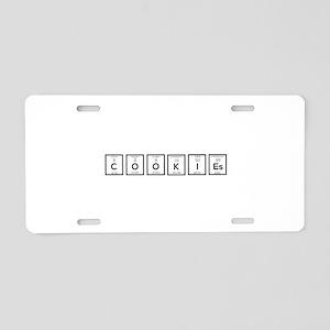 Cookies Chemical element C5 Aluminum License Plate