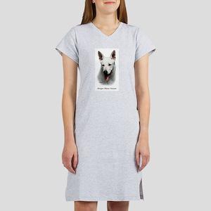 White Shepherd Women's Nightshirt