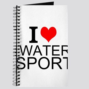I Love Water Sports Journal
