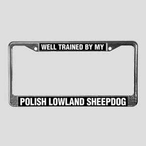 Well Trained By My Polish Lowland Sheepdog