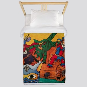 Costume Cats Twin Duvet Cover