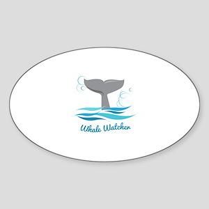 Whale Watcher Sticker