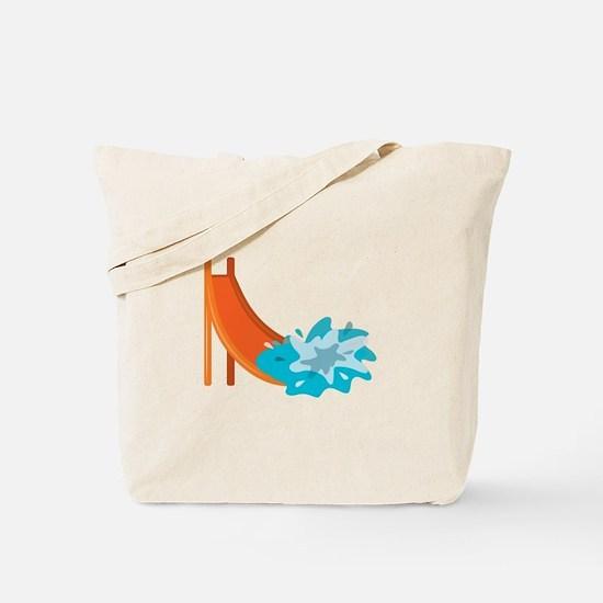 Water Slide Tote Bag