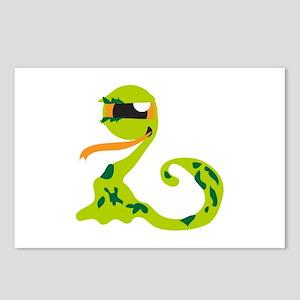 Alien Snake Postcards (Package of 8)