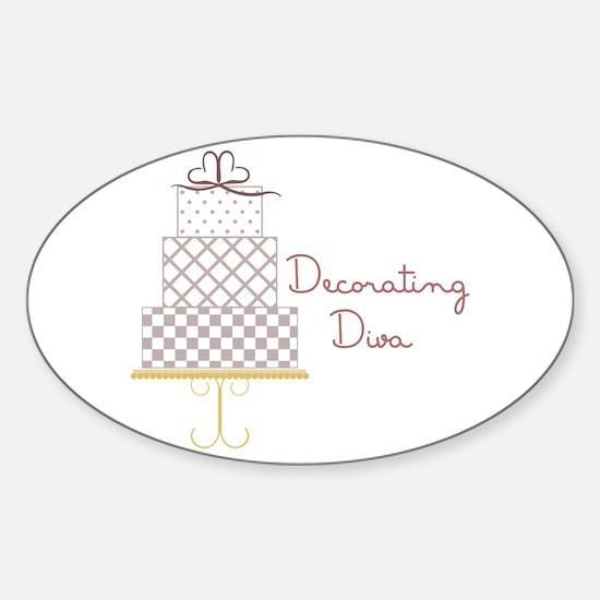 Decorating Diva Decal