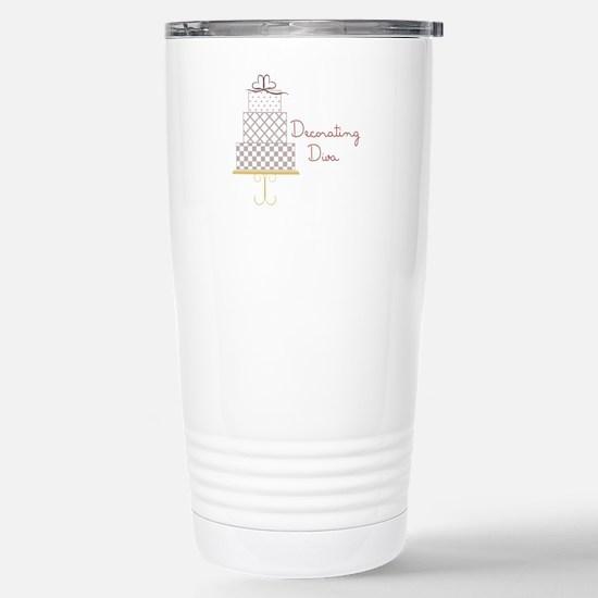 Decorating Diva Travel Mug